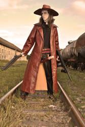 Priest - Shotgun and Tommy Gun by rafael-ribeiro