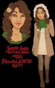 Miss Bangladesh by talsbee