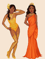 Miss Sri Lanka 3 by talsbee