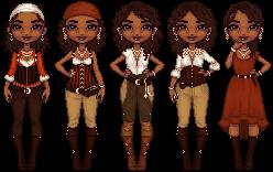 Ashrieda Hearts Clothes