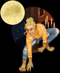 Glam! Halloween Redoll v. Krahka by talsbee