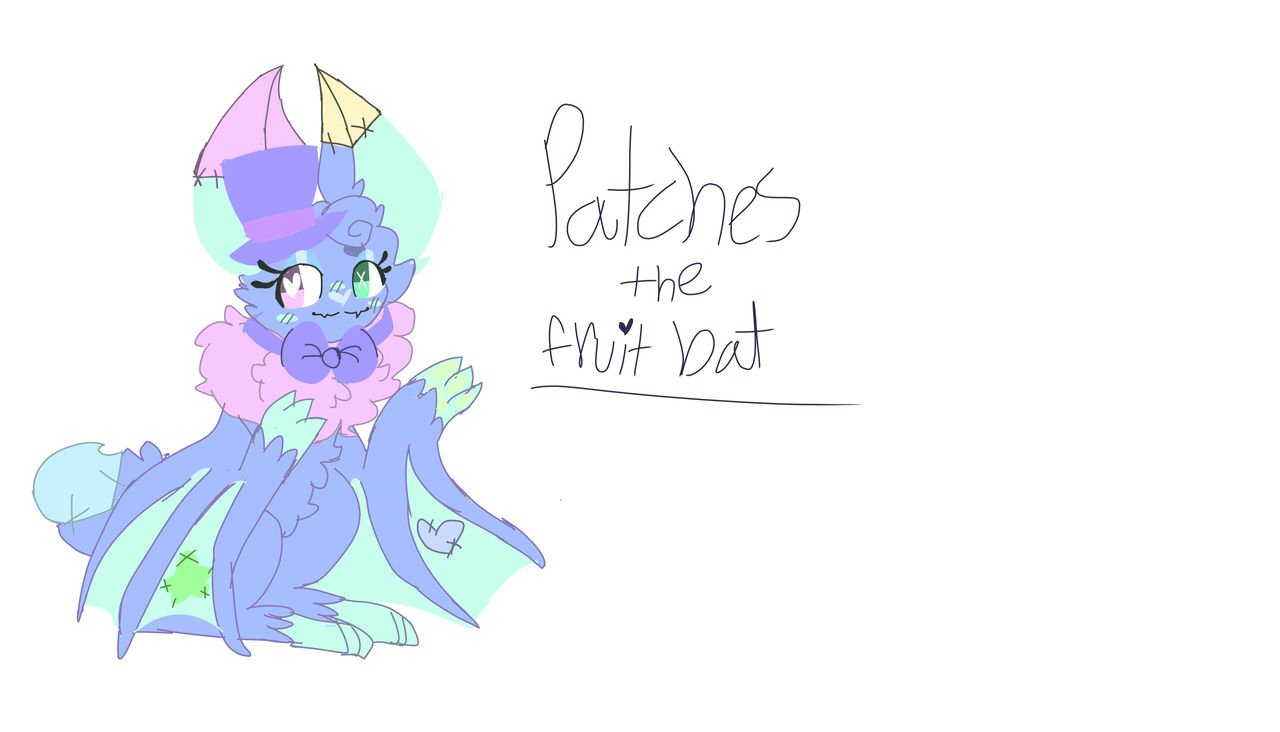 Patches The Fruit Bat Redo By Candypaws1 On Deviantart