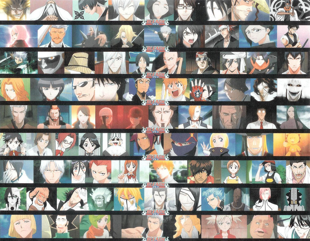 The gallery for all bleach characters names - Blech fensterbank montage ...