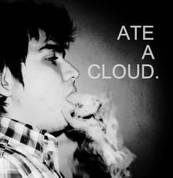 ate a cloud