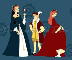 The Tudor Children by Comtessedelalune