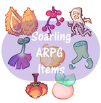 Soarling ARPG Items by Piperli