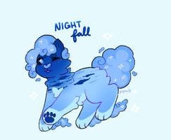 Night Fall [galacticat adopt - CLOSED]