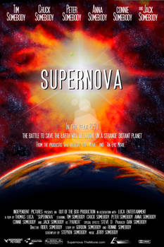 Supernova Film Poster