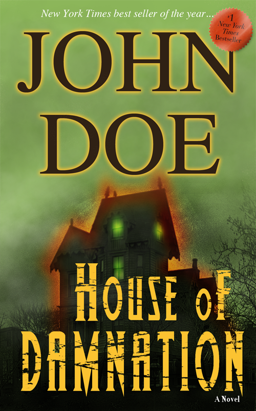 Book Cover Forros House : House of damnation book cover by finkybeatnik on deviantart