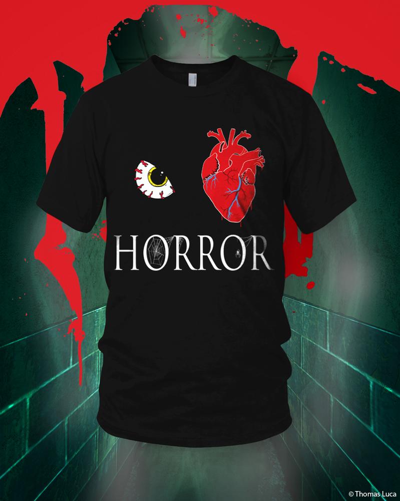 Eye Heart Horror Tee by finkybeatnik
