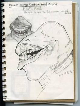Creature 001a Sketch