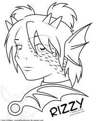 Fan Art: Rizzy by Cazzynix