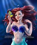 Ariel Under the sea in 3 versions