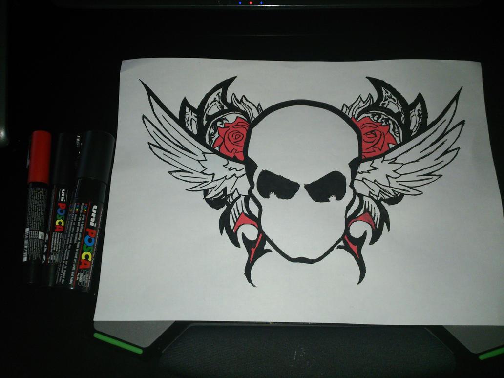 Death Eagle Tribal by Darkmicha91