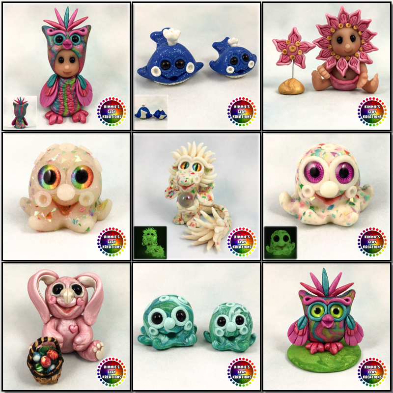 New Kreations Adoption 3-30-17 by KIMMIESCLAYKREATIONS