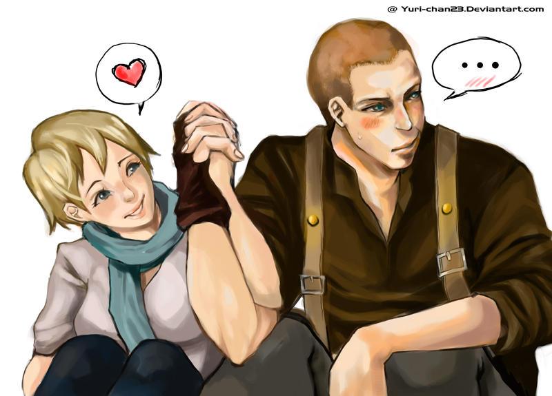Jake and Sherry by yuri-chan23
