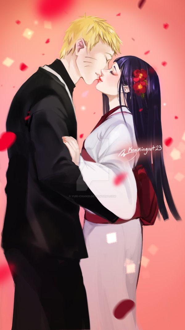 Hinata And Naruto Wedding by yuri-chan23