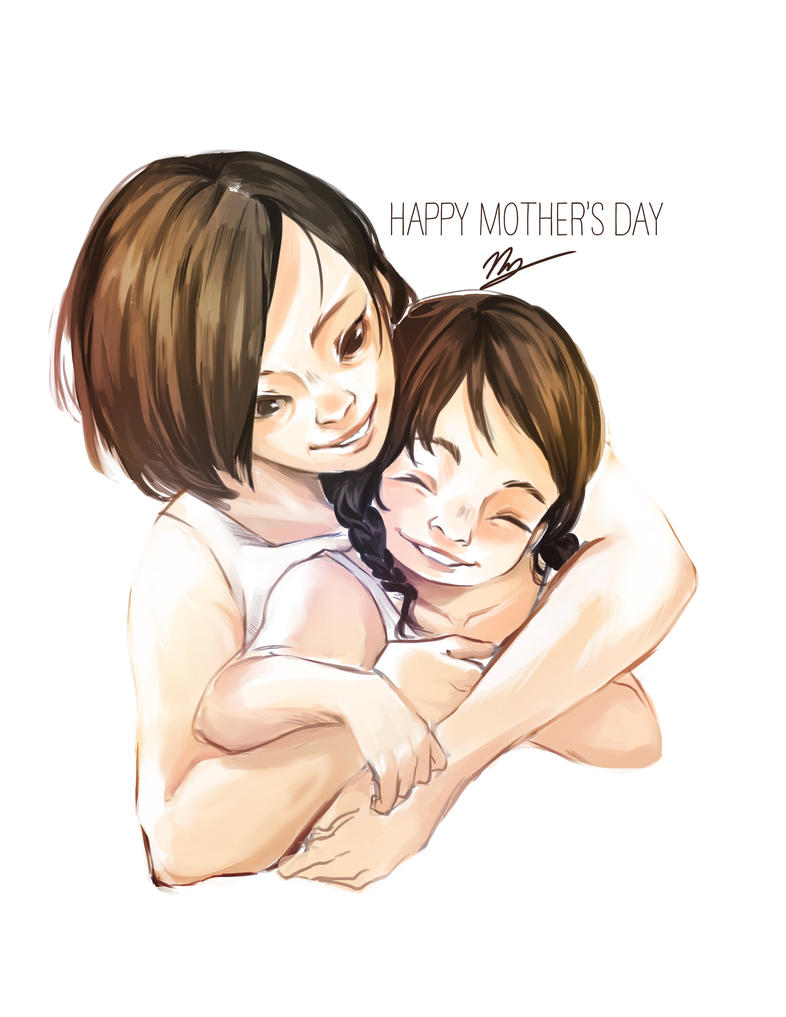 Mother and Child by yuri-chan23