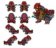 Virus Groudon Overworlds by PKMN-PYRO