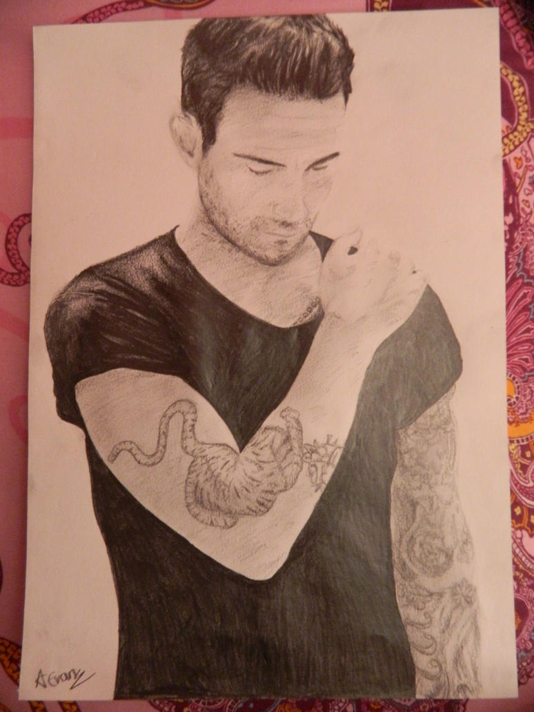 Adam Levine by TheDaylightWolf