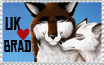 UK .:Heart:. Brad Stamp by TheDaylightWolf