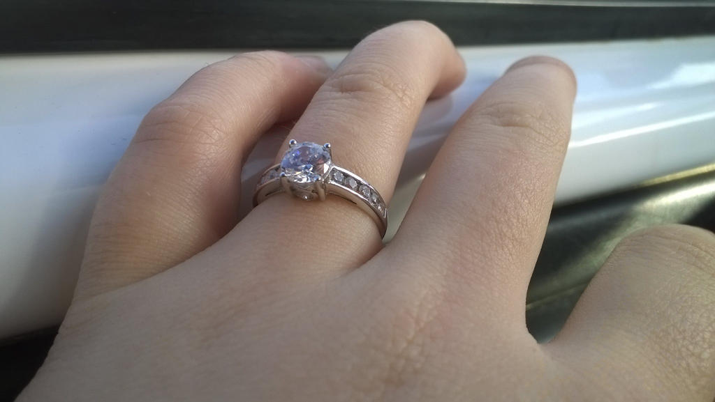 My Engagement Ring. by TheDaylightWolf