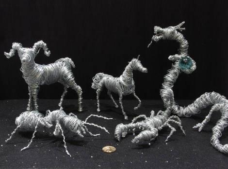 Animais de arame - Wire animals