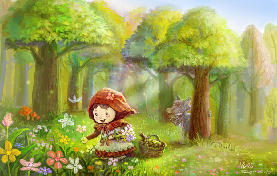 Little Red Riding Hood by yudaofeng