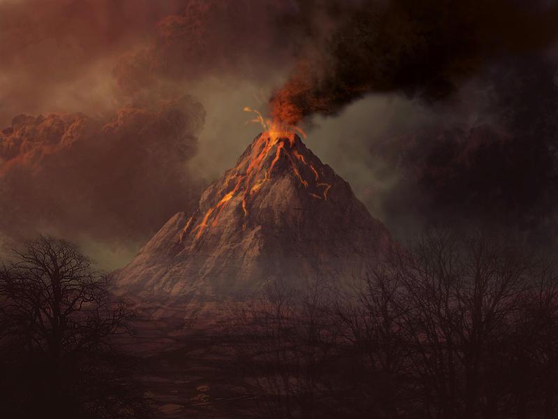 Vulcano by vandervals