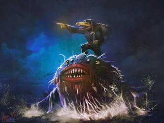 El pececito feo by vandervals