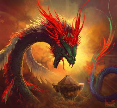 Quetzalcoatl by vandervals