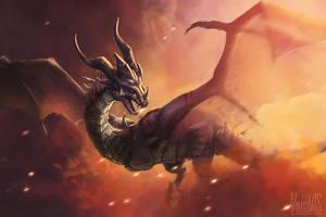 Dragon OC by vandervals