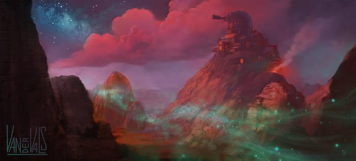 Cosmo Canyon Final fantasy 7 remake