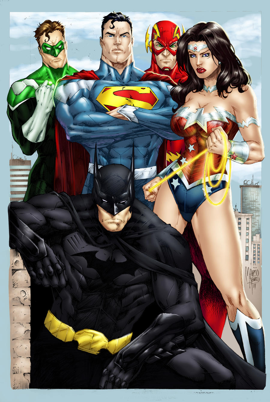 Justice League by Electric-Eccentric