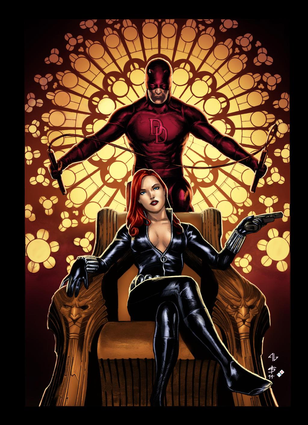 Black Widow and Daredevil | Zoom Comics - Daily Comic Book