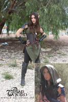 Avryale - LARP Elf Ranger costume by Avryale