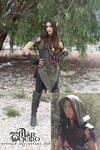 Avryale - LARP Elf Ranger costume