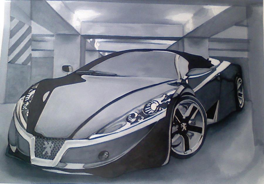 fancy car by screennamethubby