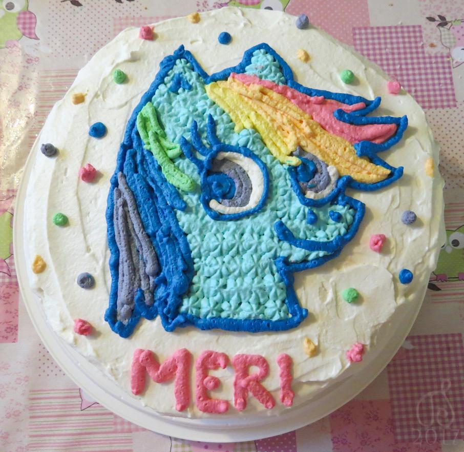 Birthday Cake for Goddaughter by Tessasa