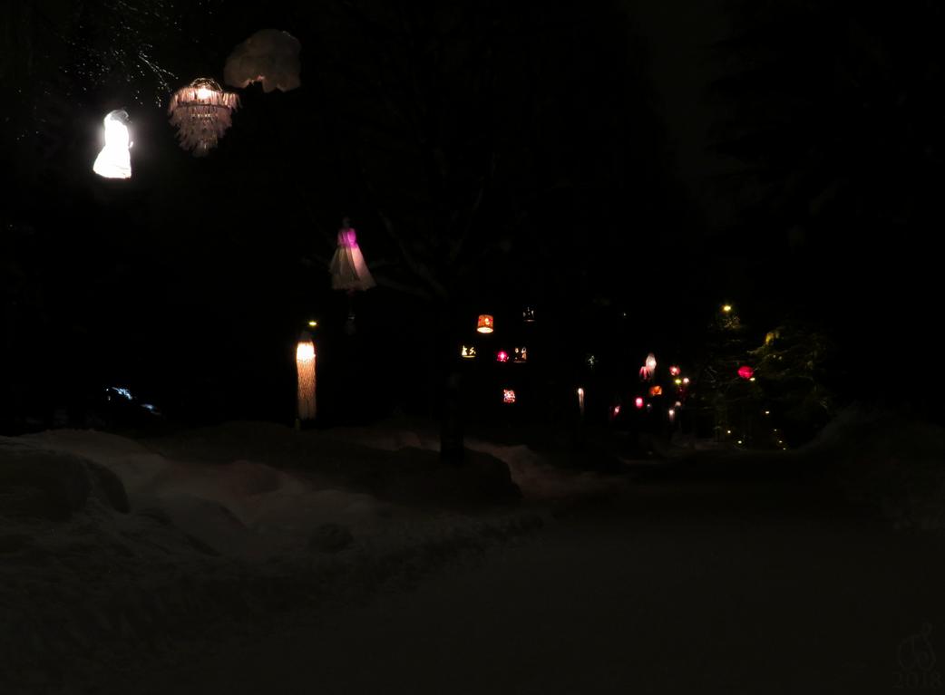 Polar Night Light Festival by Tessasa