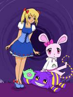 Wonderland by Knitted-Brain