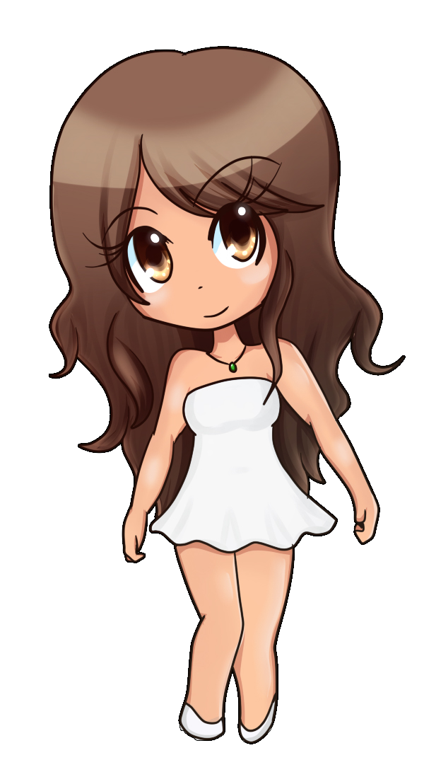 cute chibi girl by ladyselph on deviantart