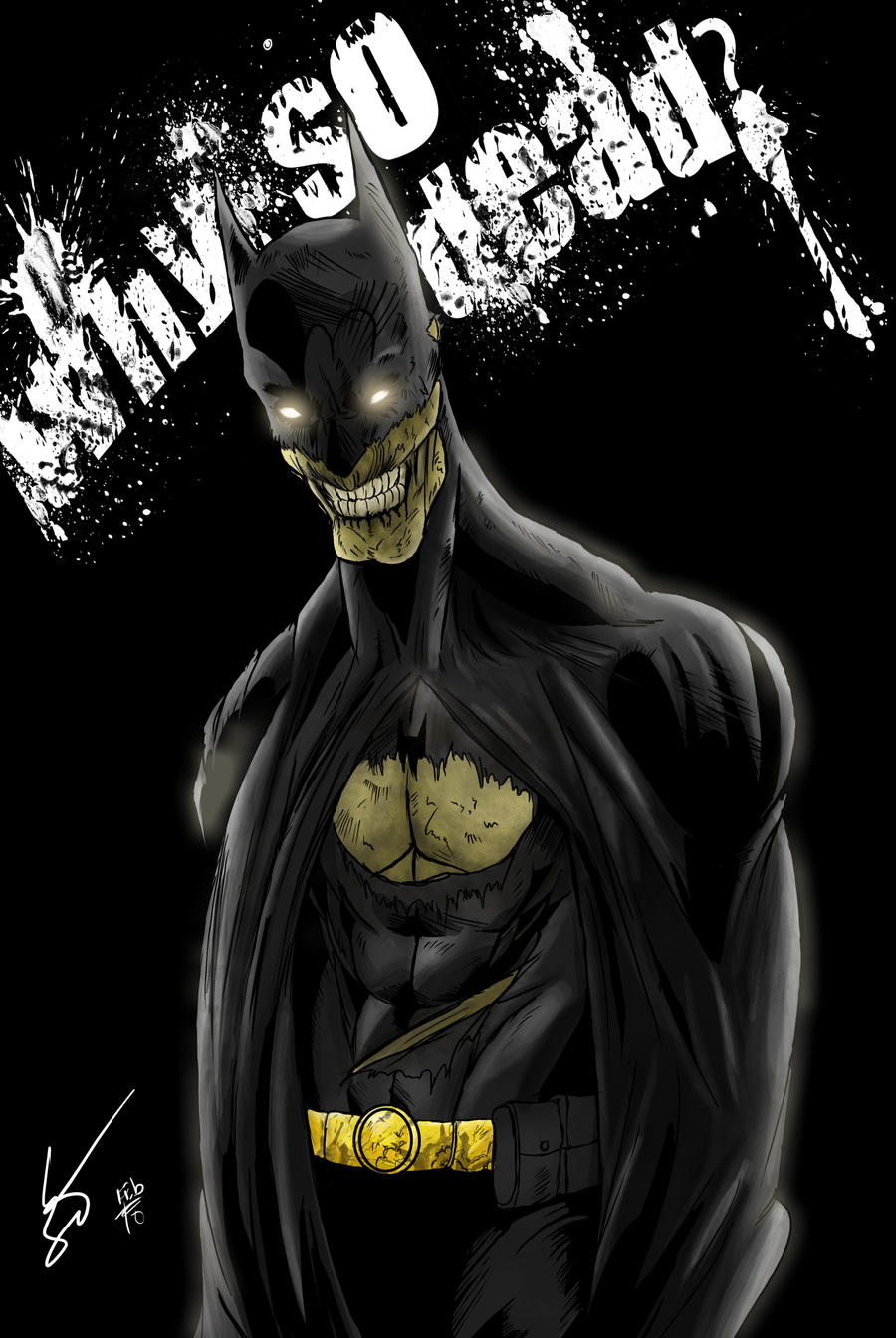 Zombie Batman Comic zombie batman by endpo...