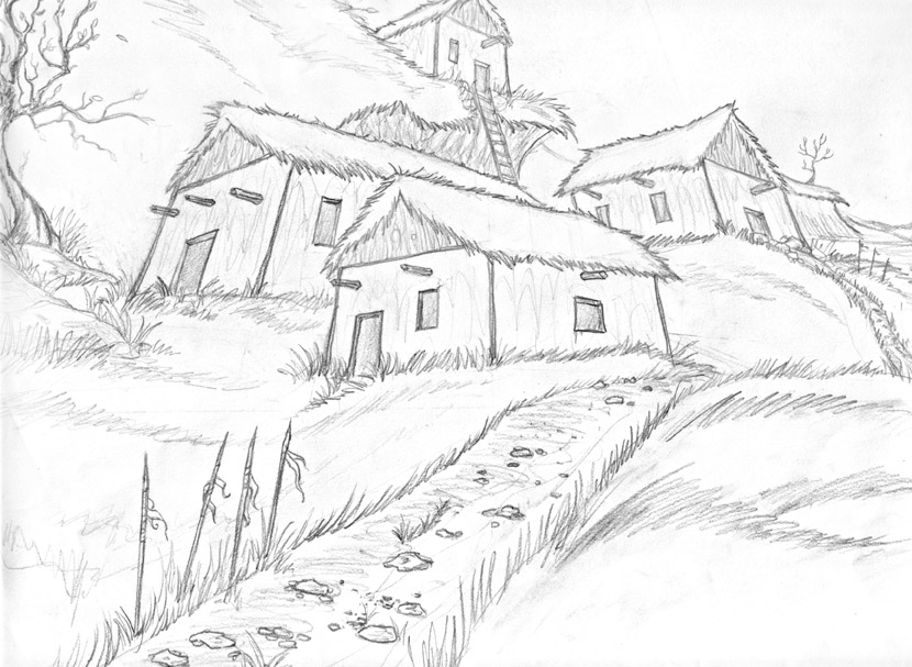 How to Draw a Village in 5 Steps | HowStuffWorks