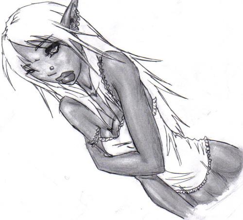 Drow Girl By Sativa23 On Deviantart