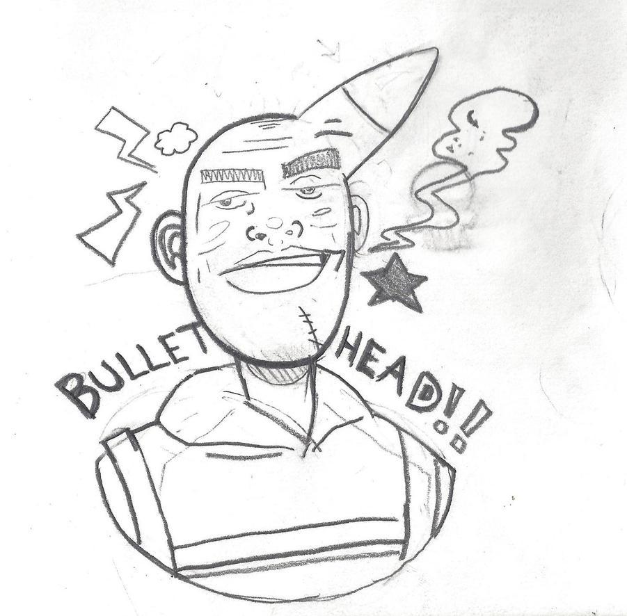 Bullethead by MokMonster
