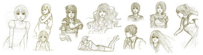 Sketch dump V by Yoon-san