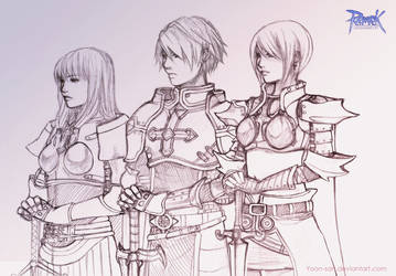The Swordsmen by Yoon-san