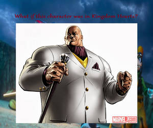 What if Kingpin was in Kingdom Hearts?