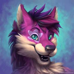 Portrait Pink Star